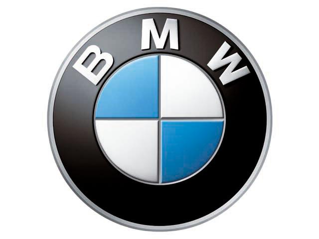 bmw logo, white