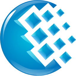 Webmoney icon - blue logo
