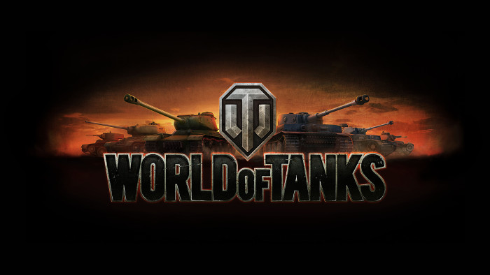 World of Tanks (wot) - wallpaper with logo