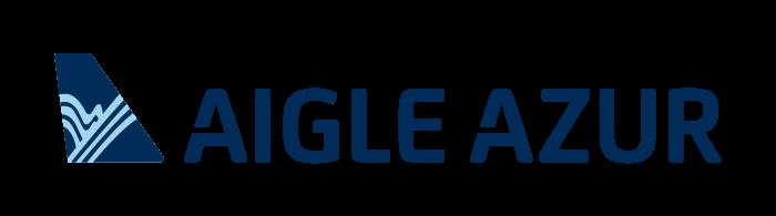 Aigle Azur logo, logotype, emblem