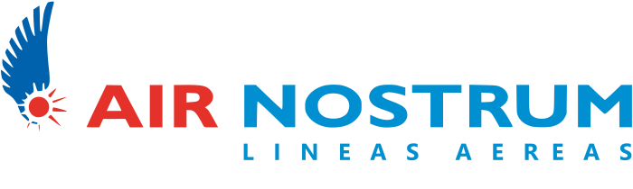 Air Nostrum logotype, logo, emblem, 2