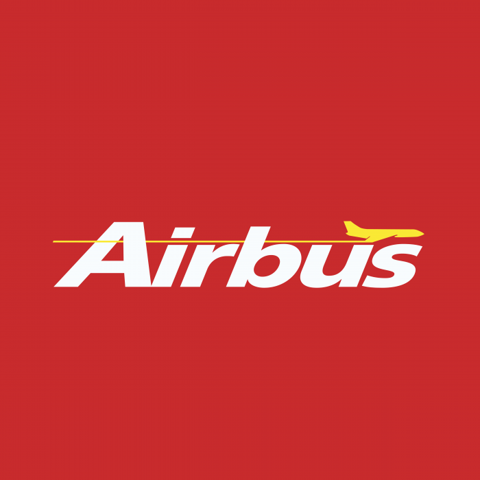 Airbus logo red
