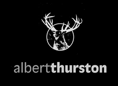 Albert Thurston logo black