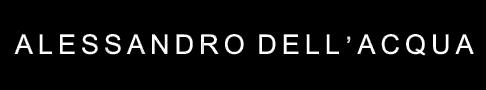 Alessandro DellAcqua logo, logotype, emblem, black