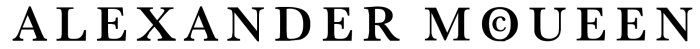 Alexander McQueen logo, logotype, emblem