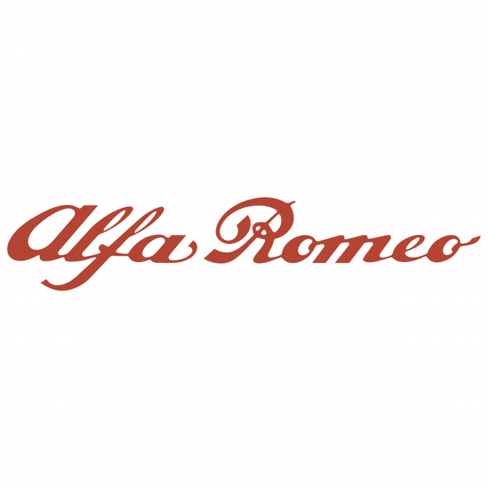 Alfa Romeo logo red