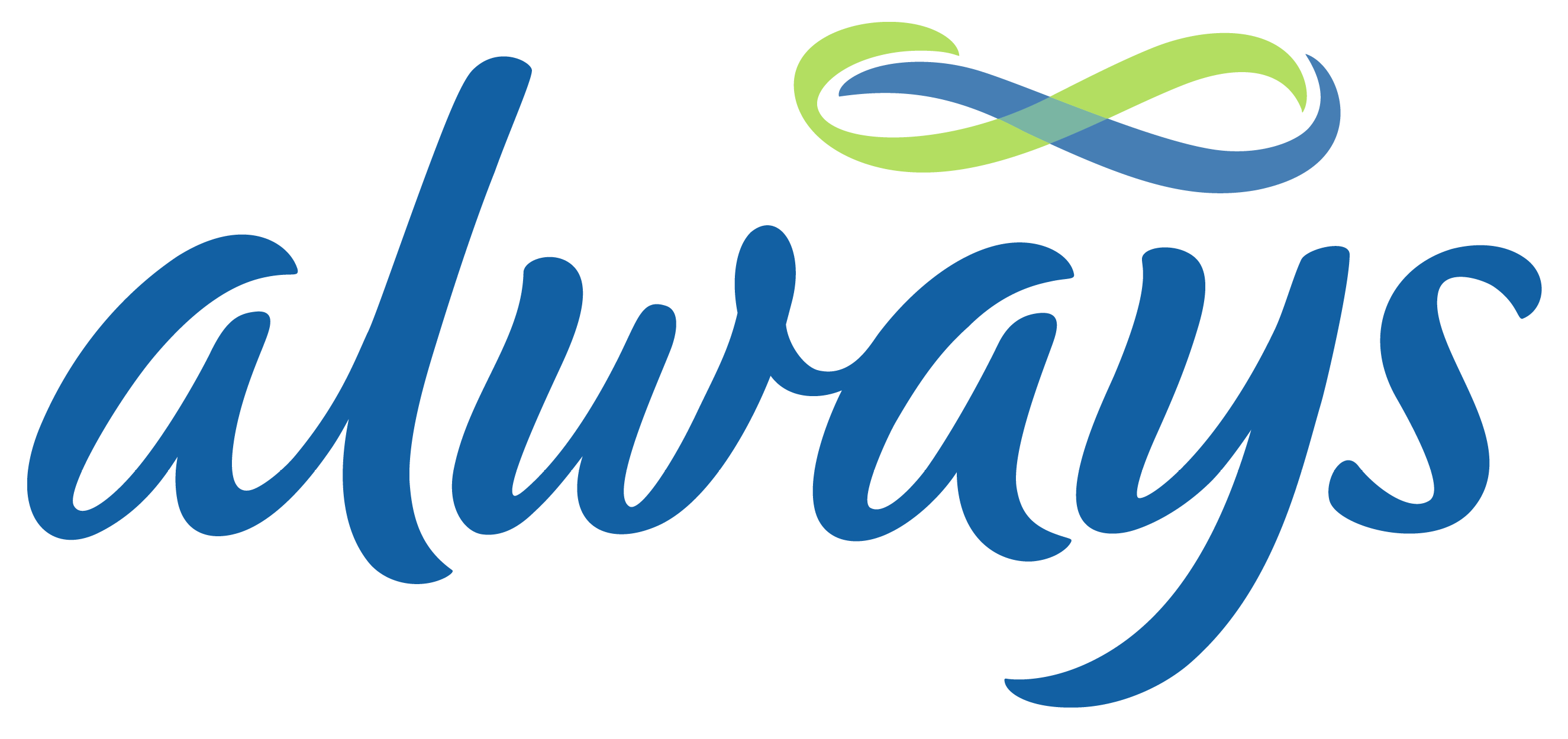 Always logo, logotype, emblem
