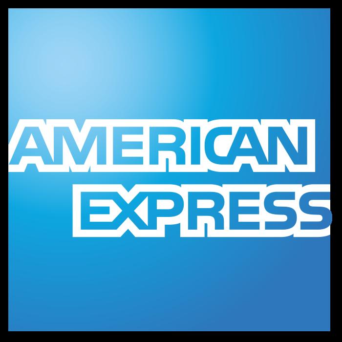 American Express logo, logotype, emblem