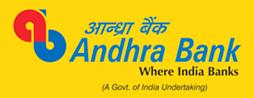 Andhra bank logo, yellow bg