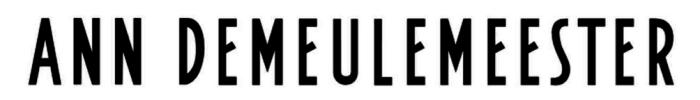 Ann Demeulemeester logo, logotype