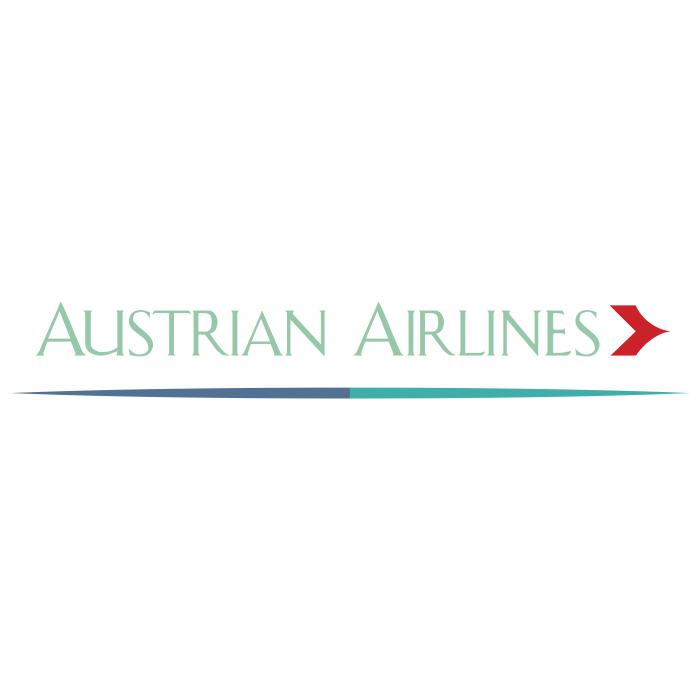 Austrian Airlines logo brand