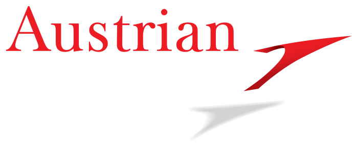 Austrian Airlines logo, logotype, emblem