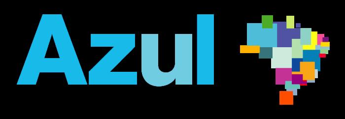 Azul Linhas Aéreas logo, logotype, emblem (Brazilian Airlines)
