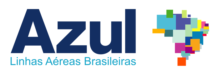 Azul logo, logotype, emblem (Azul Brazilian Airlines)