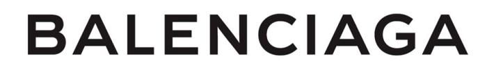 Balenciaga logo, logotype, wordmark