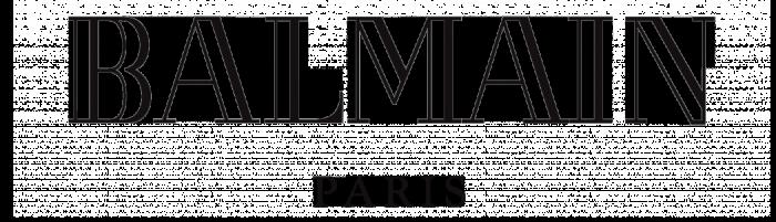 Balmain logo, logotype, wordmark