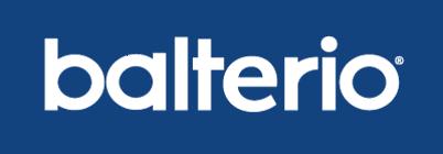 Balterio logo, logotype, emblem