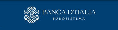 Banca d'Italia blue logo from website