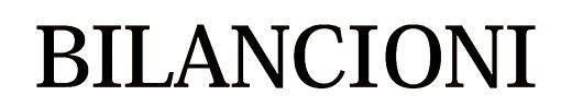 Bilancioni logotype black