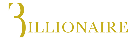 Billionaire logo, logotype, wordmark
