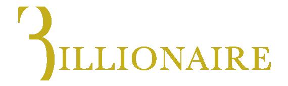 Billionaire logo, logotype, wordmark