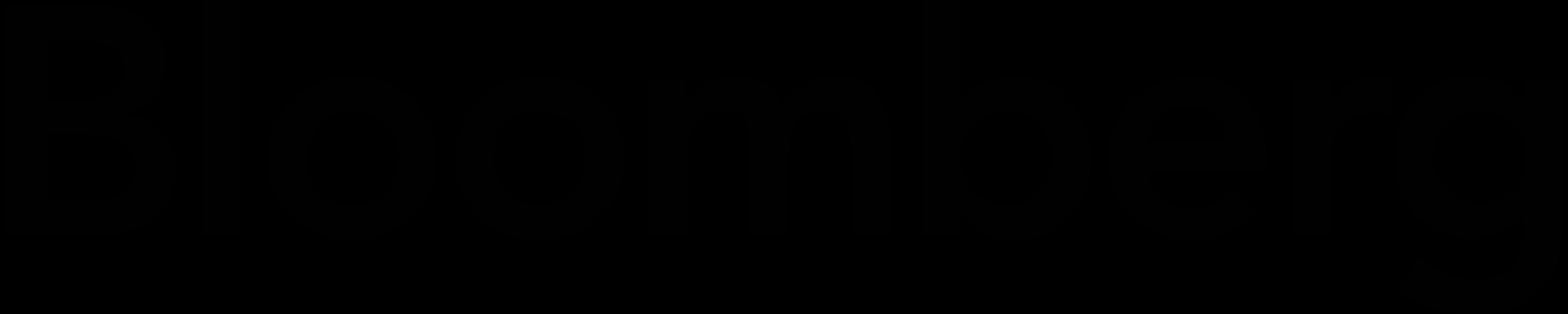 Bloomberg logo, logotype, emblem