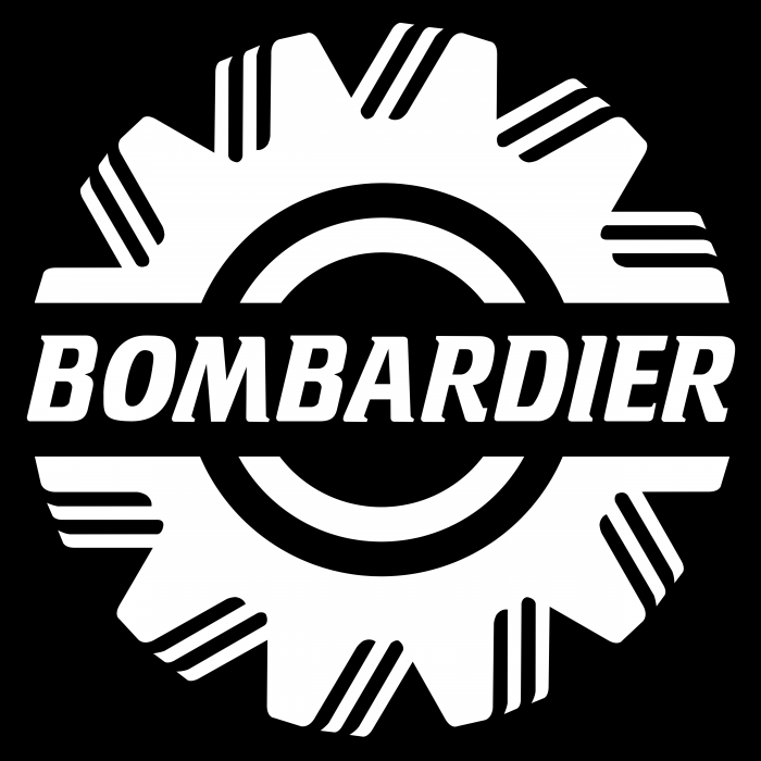 Bombardier logo cube