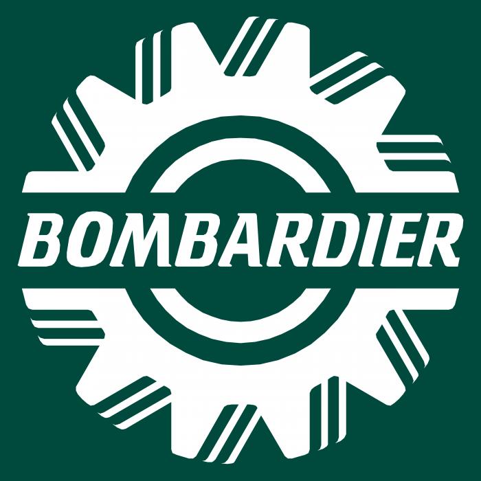 Bombardier logo green