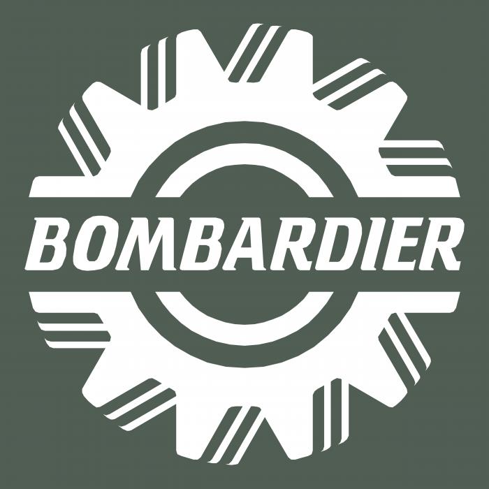 Bombardier logo grey