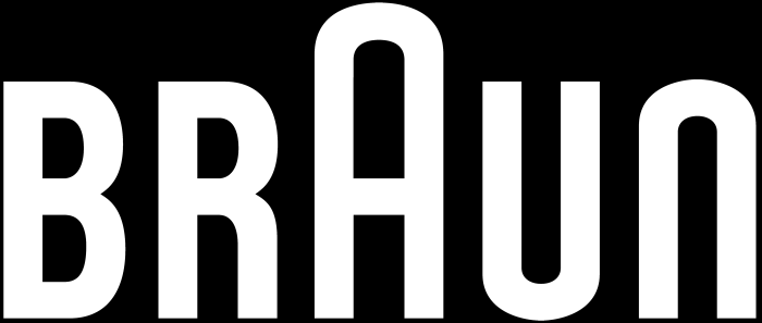 Braun logotype, black