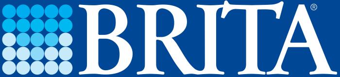 Brita logo, blue