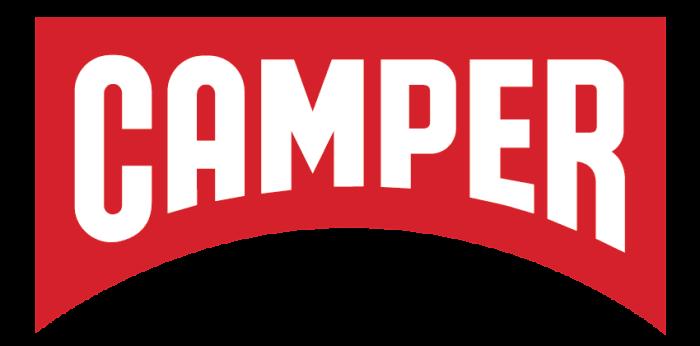 Camper logo, logotype, emblem