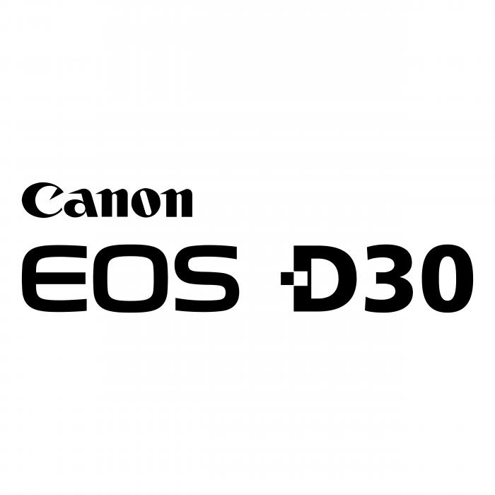 Canon EOS logo d30