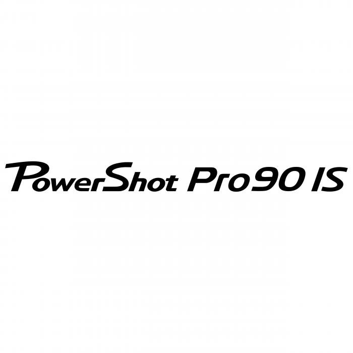 Canon PowerShot Pro90 logo is