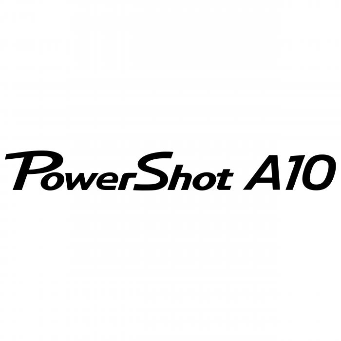Canon PowerShot logo a10