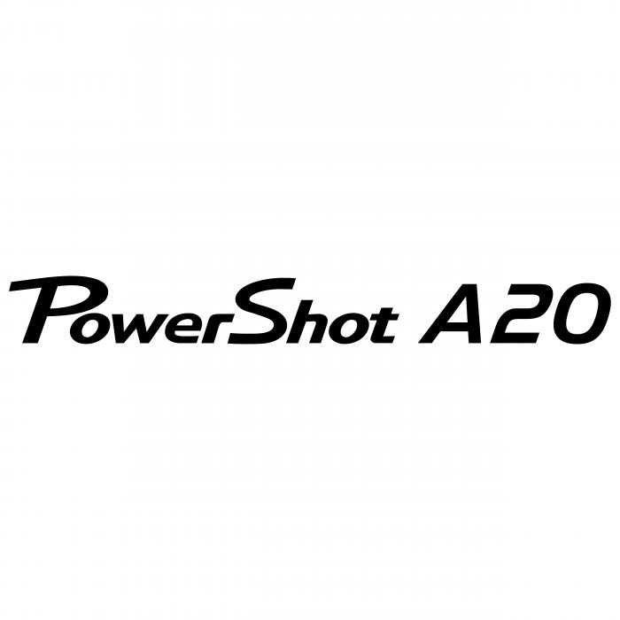Canon PowerShot logo a20