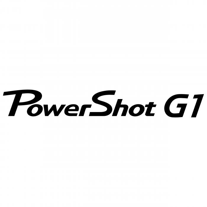 Canon PowerShot logo g1