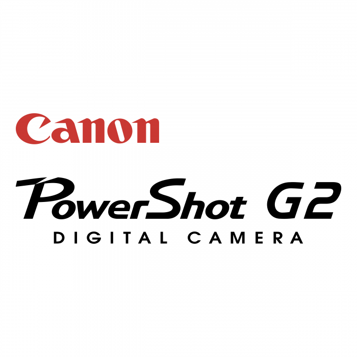 Canon PowerShot logo g2