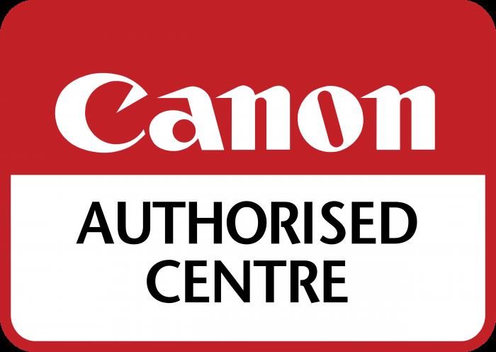 Canon logo authorised centre