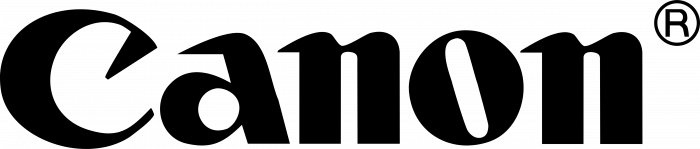 Canon logo black