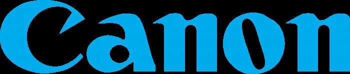 Canon logo blue