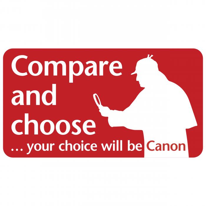 Canon logo compare