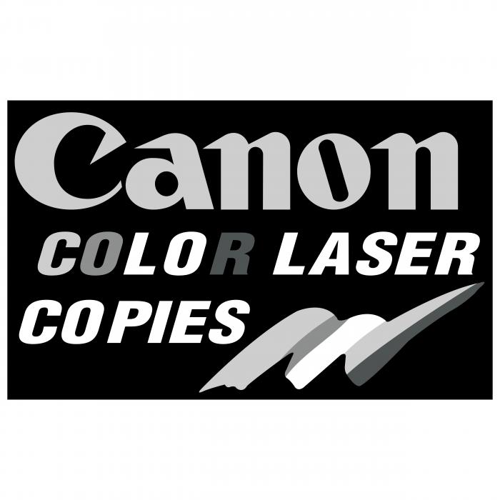 Canon logo laser