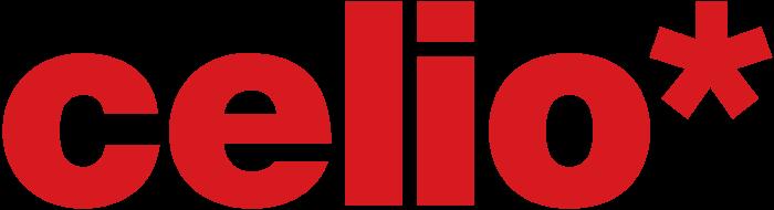 Celio logotype, red