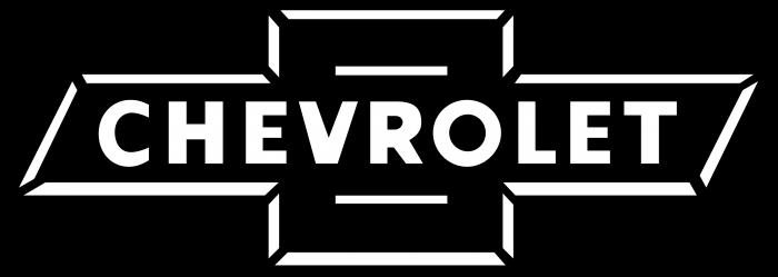 Chevrolet logo bw