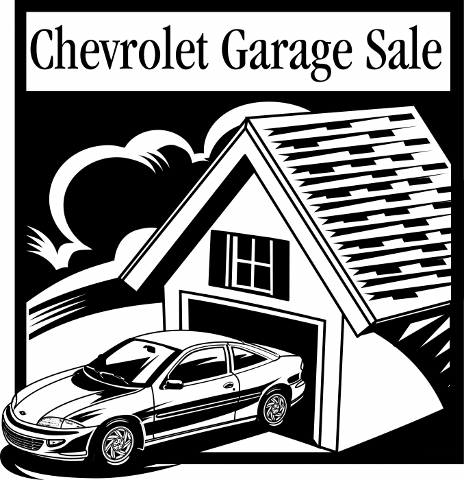 Chevrolet logo garage