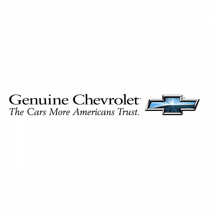 Chevrolet logo genuine