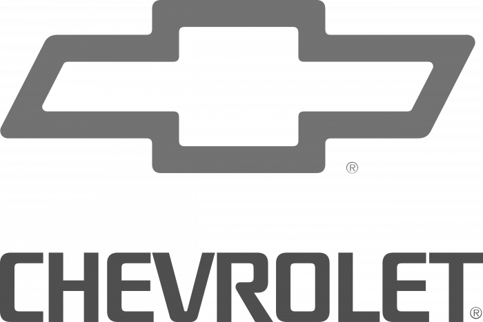 Chevrolet logo grey