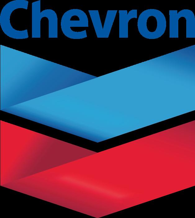 Chevron logo, logotype, emblem