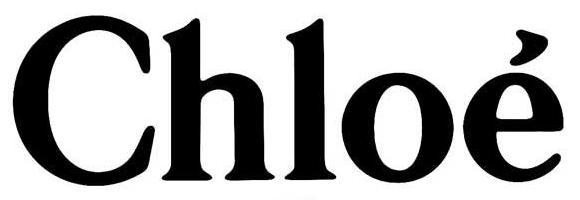 Chloé black logo